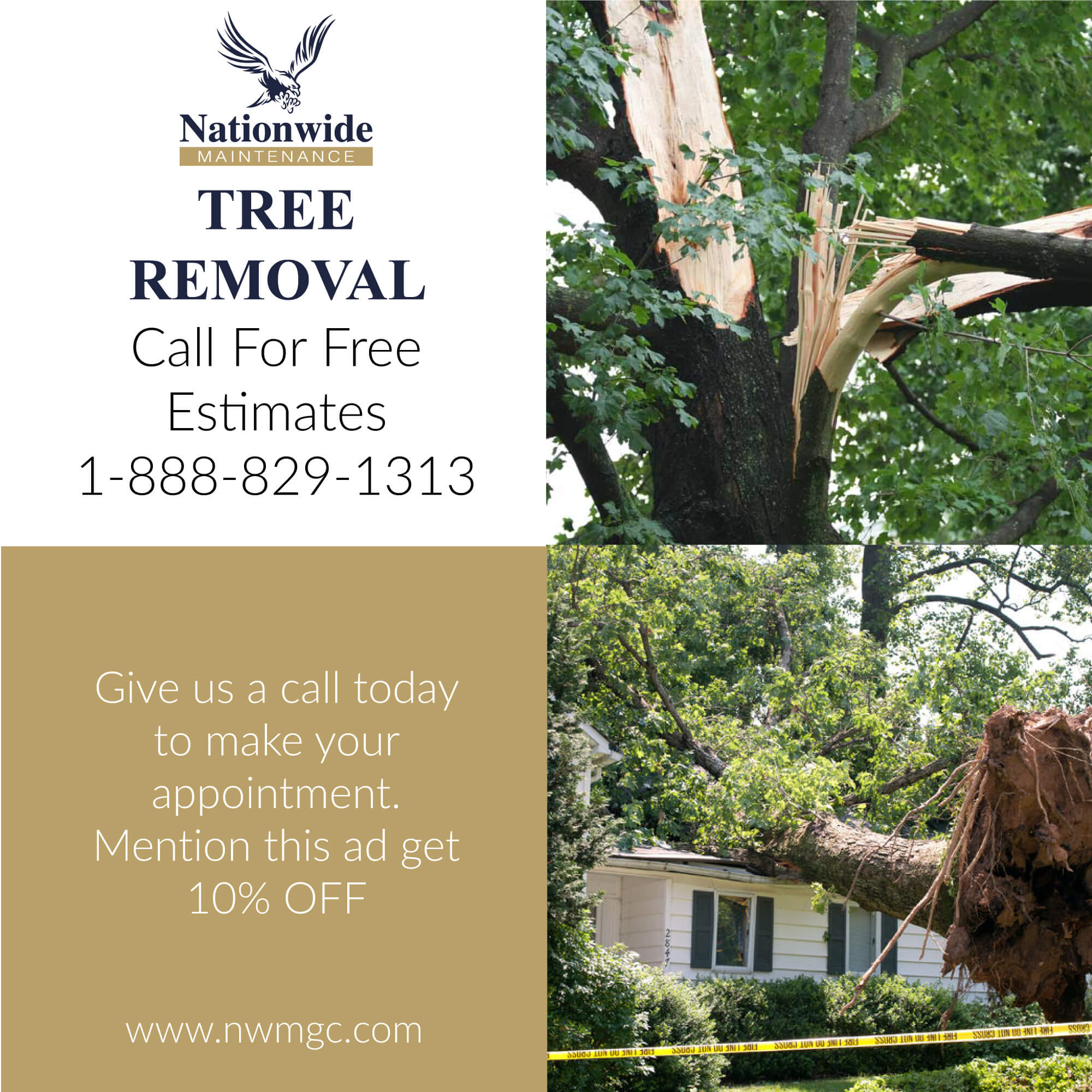 Tree Removal Nationwide Maintenance